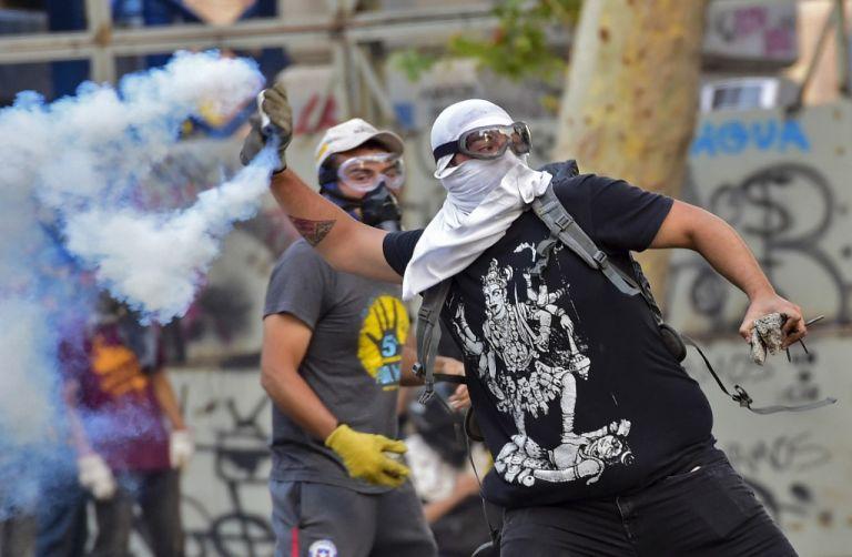 La región ha vivido un estallido de protestas en países como Chile, Colombia, Ecuador, Bolivia y Haití. Foto: AFP