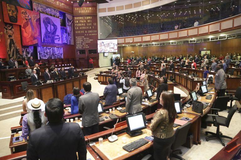 El presidente del Legislativo, César Litardo, convocó a los asambleístas a la sesión 637, a las 15h30.