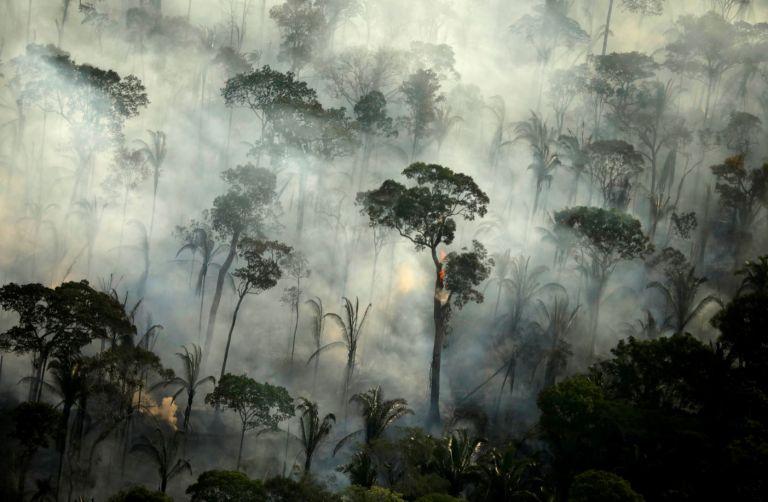 Los fuegos en la Amazonía emitieron unos 25 megatones de CO2 en los primeros 26 días de agosto. Foto: Reuters.