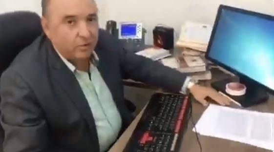 Manuel Ruiz Moreira, de la Unidad Judicial Multicompetente del cantón Santa Ana. Foto: Captura