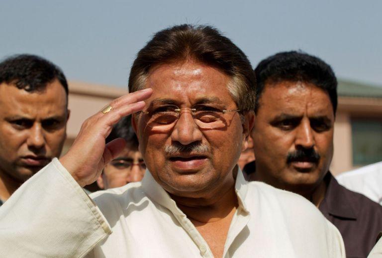 Pervez Musharraf es un exgeneral de 76 años que llegó al poder en un golpe de Estado en 1999 y gobernó hasta 2008. Foto: Reuters.