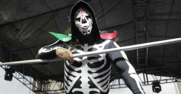 """""""La Parka"""", con nombre de pila Jesús Alfonso Escoboza, falleció este sábado tras una lesión que le dejó un combate."""