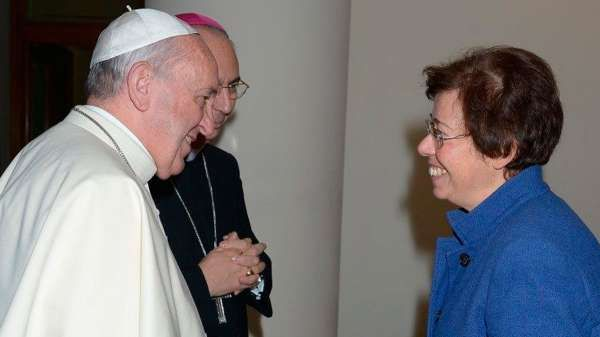 El papa nombró a Francesca Di Giovanni para una subsecretaría de la Secretaría de Estado.