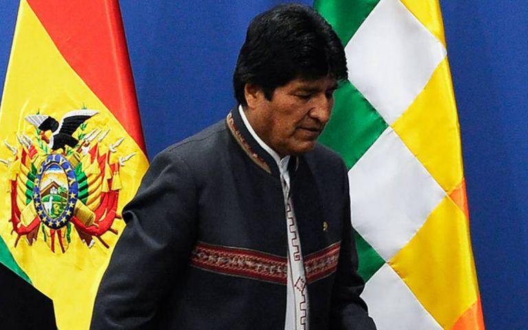 Morales reconoció en una entrevista que fue un error volver a presentarse a elecciones.