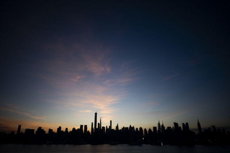 La barrera de Nueva York tendría casi 10 kilómetros de largo y estaría compuesta por un sistema de compuertas. Foto: AFP.