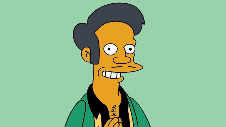 El personaje Apu de The Simpsons ha sido cuestionado en documentales.