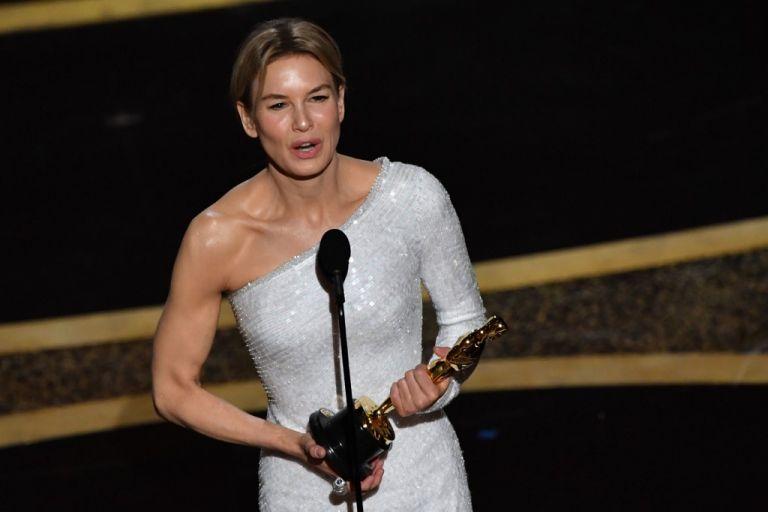 """La actriz interpretó a Judy Garland en """"Judy"""". Foto: AFP."""