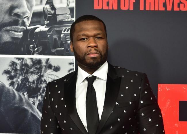 """50 Cent aseguró que el motivo principal por el que apostó por hacer una serie es la historia de Wright pues """"sabía que iba a funcionar bien en televisión"""". Foto: AFP."""
