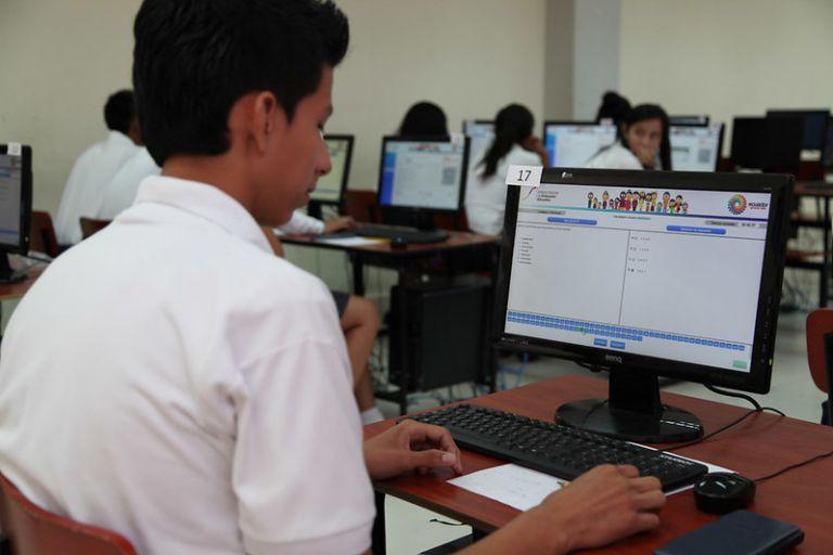 Actualmente, para el acceso a la educación superior el examen 'Ser Bachiller' es uno de los requisitos.