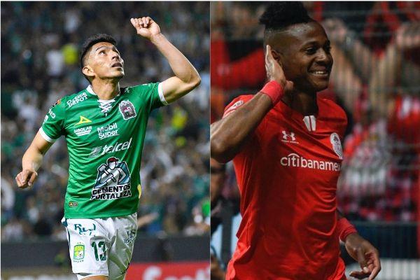 Los delanteros ecuatorianos Ángel Mena y Michael Estrada fueron protagonistas en las victorias de sus equipos en México.