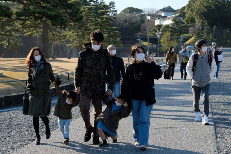 En Tokio se han tomado medidas para evitar el brote de coronavirus. Foto: AFP.