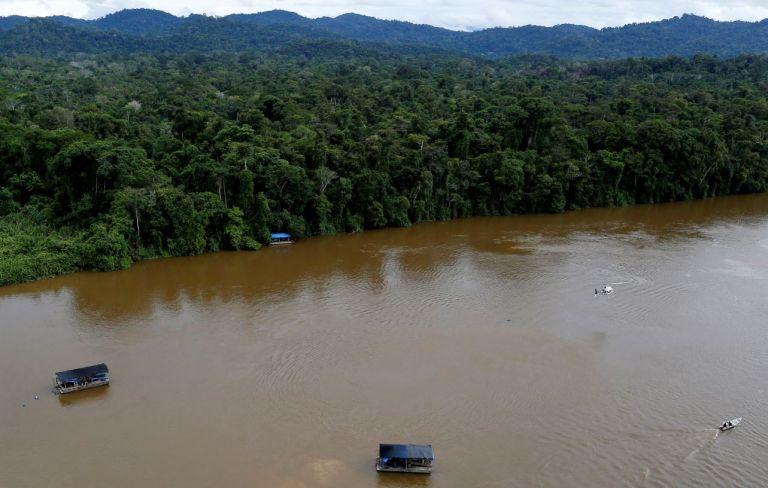 Amazonas. Foto: Reuters.