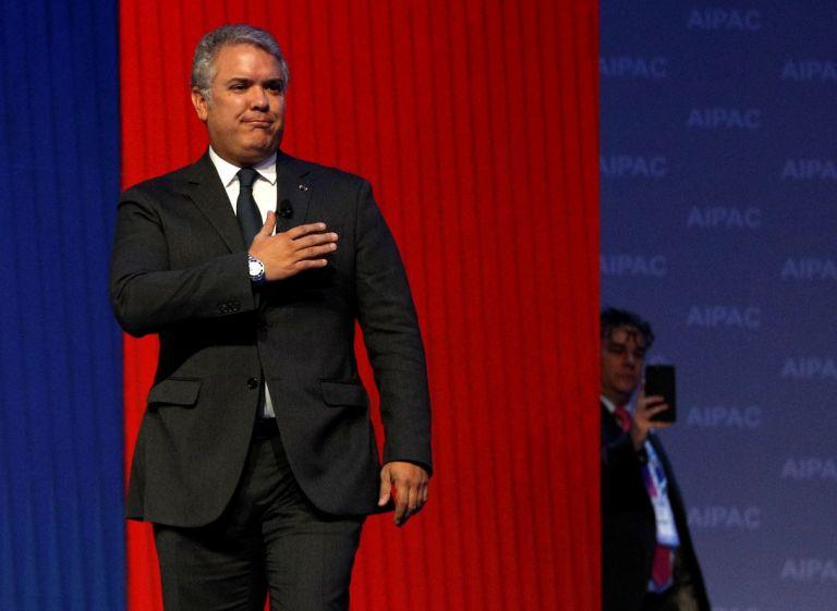 Ivan Duque, presidente de Colombia. Foto: Reuters.