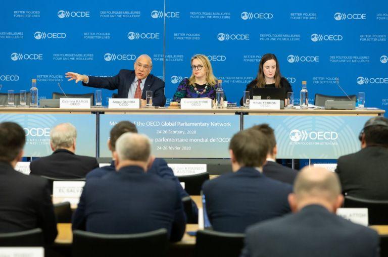 Organización para la Cooperación y el Desarrollo Económicos (OCDE). Foto: Twitter de Angel Gurría.