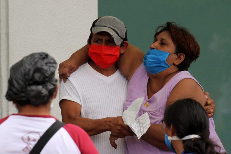El virus está castigando con fuerza a la provincia de Guayas y su capital, Guayaquil. Foto: AFP