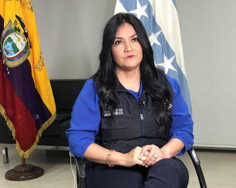 La exministra de Salud, Catalina Andramuño, debía comparecer virtualmente ante los asambleístas. No se presentó.