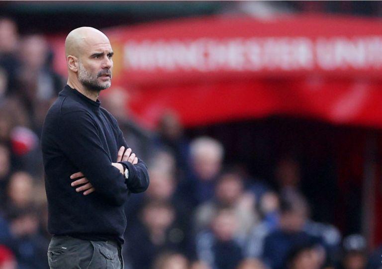 Pep Guardiola. Foto: Reuters.