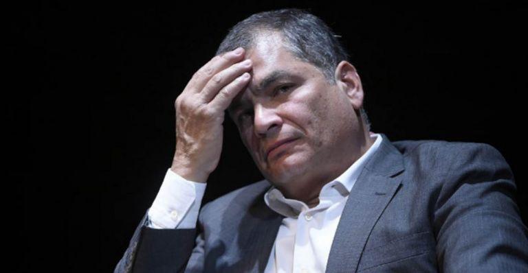 Correa y Glas son condenados como autores mediatos del delito de cohecho agravado. Foto: AFP