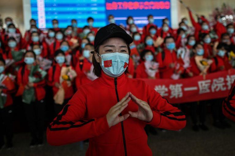 El martes, China anunció por primera vez cero muertos por el nuevo coronavirus. Foto: AFP