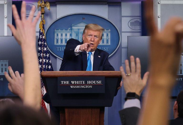 """Según Trump, la OMS """"parece estar muy sesgada hacia China"""". Foto: AFP"""