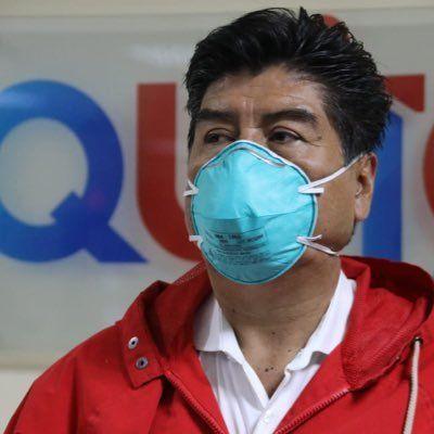 El alcalde de Quito, Jorge Yunda, solicitó al COE la ampliación de la cuarentena en la capital.