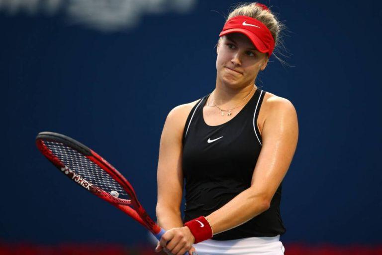 Eugenie Bouchard, tenista canadiense de 26 años, actualmente se ubica en el puesto 328 del ranking femenino, pero supo estar en los primeros lugares en el 2014.