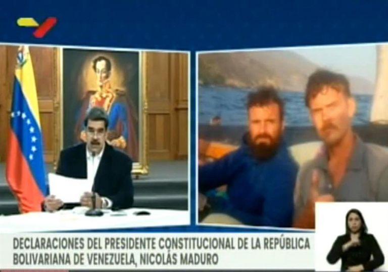 Las declaraciones de Denman fueron presentadas por Maduro durante una rueda de prensa. Foto: Reuters