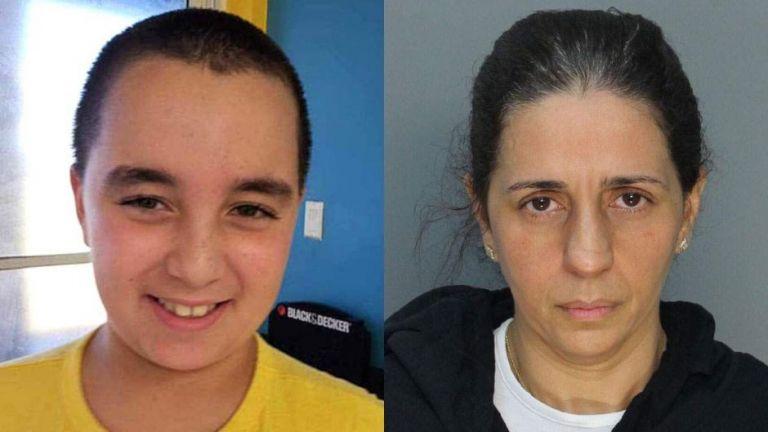 La madre de Alejandro denunció el jueves por la noche que el niño había sido secuestrado.