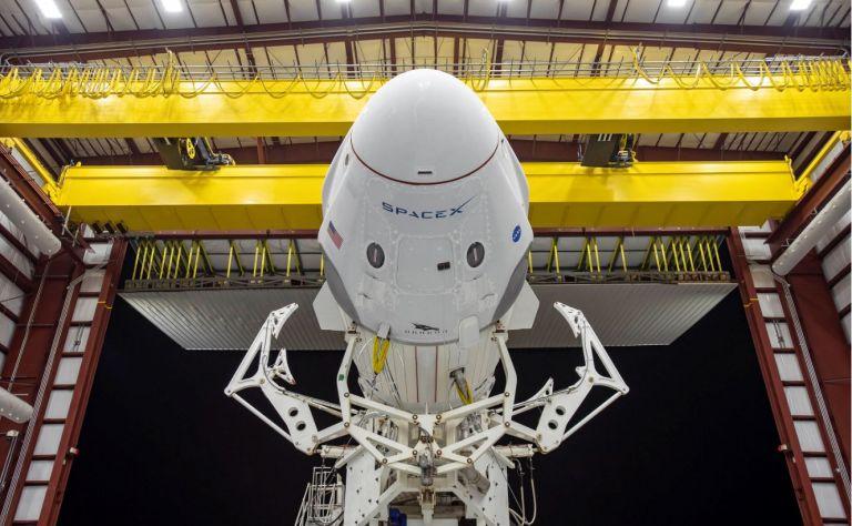 SpaceX. Foto: AFP.