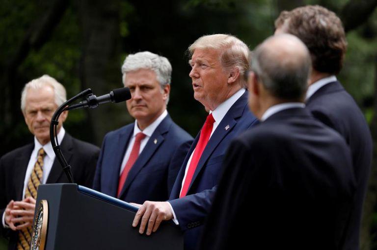 El presidente de Estados Unidos acusa a la OMS de una pésima gestión de la pandemia. Foto: EFE.