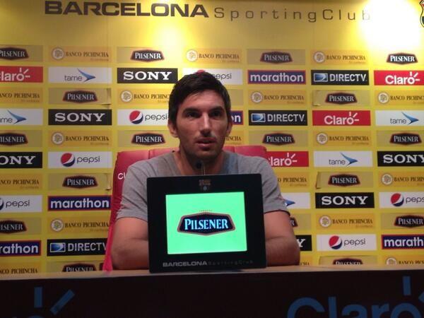 El defensa argentino, Franco Peppino, llegó a Barcelona a inicios de 2014. Fue de los que más destacaron esa temporada, sin embargo, no lo renovaron al año siguiente.