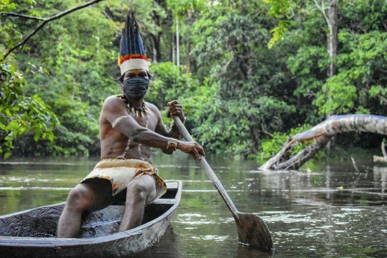 El área abarca territorios de ocho países (Brasil, Perú, Colombia, Bolivia, Ecuador, Venezuela, Guyana y Surinam). Foto: AFP