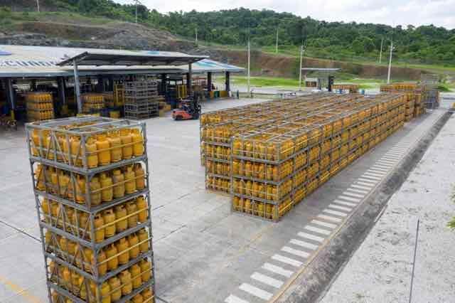 Más de un millón de kilogramos de GLP se destinó para el consumo doméstico en el país, durante el 2019. Foto: Cortesía.