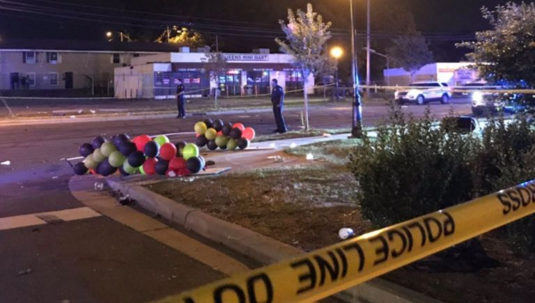 FOTO: Esta madrugada se registró un tiroteo en Charlotte. (Twitter @AfterDarkMarcel)