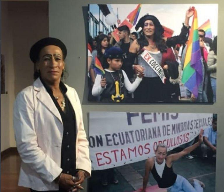 Almeida luchó en el proceso de despenalización de la homosexualidad en Ecuador en las décadas de 1980 y 1990 .