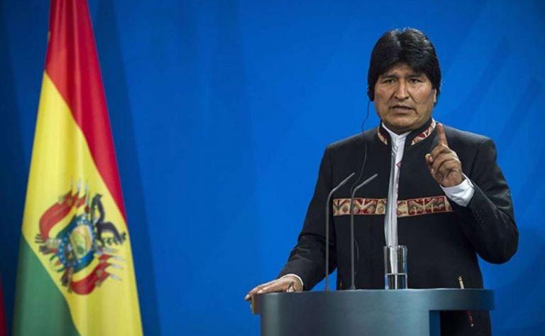 Expresidente de Bolivia Evo Morales. Foto: AFP.