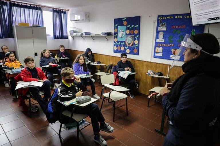 Uruguay mantiene hasta el momento un buen control sobre la pandemia. Foto: EFE