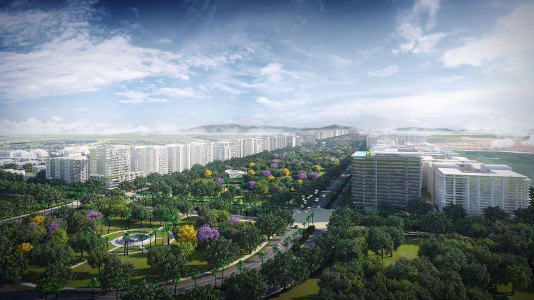 El proyecto Nuevo Samborondón contempla actividades comerciales, recreacionales y residenciales. Foto cortesía.