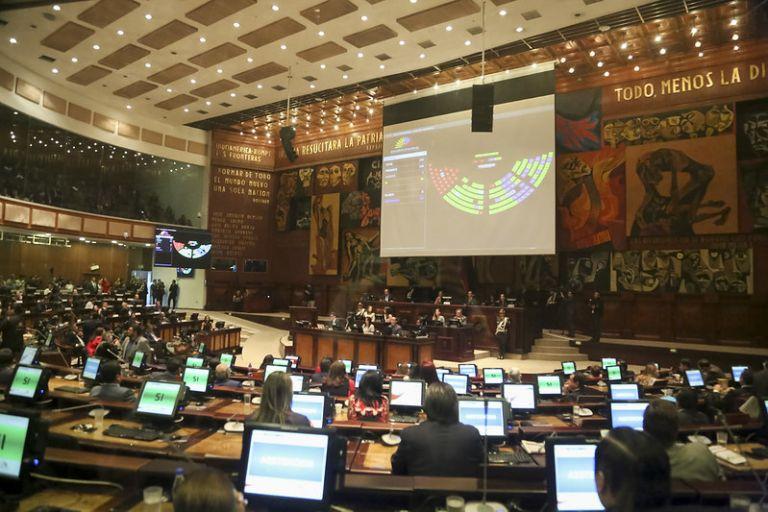 La renuncia de Otto Sonneholzner ya llegó a la Asamblea Nacional.