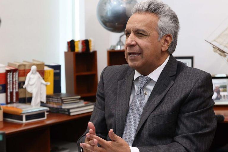 """""""Lamentablemente las repercusiones golpean más duro a los países con economías pequeñas como Ecuador"""", dijo Moreno."""