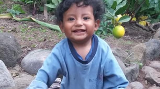El menor tiene un año y desapareció en Ambato el pasado miércoles 8 de junio de 2020.