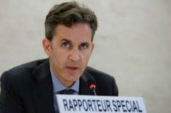 Relator especial de Naciones Unidas para la libertad de expresión, David Kaye. Foto: EFE.