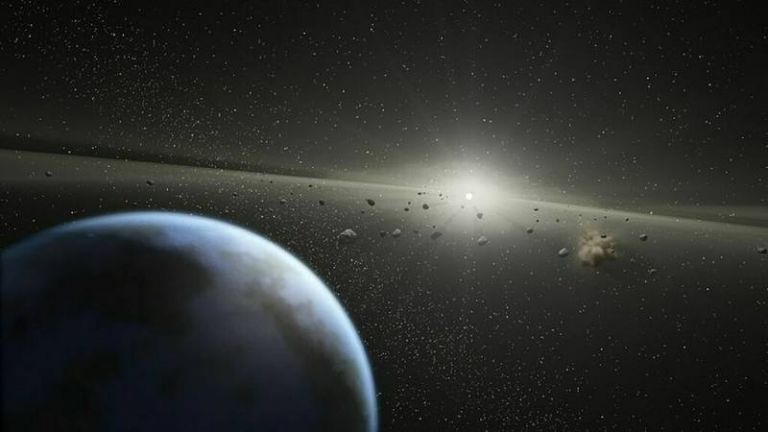 """La NASA aclaró que estos asteroides no impactarán contra la Tierra, fue enfática al señalar que """"pasarán cerca"""", pero su cercanía se proyecta entre 7,1 y 4,3 millones de kilómetros."""