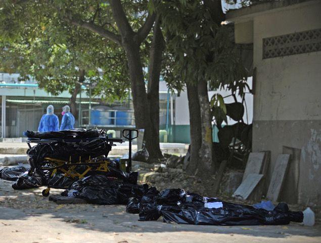 Fueron 215 los cuerpos que tras su último aliento no pudieron descansar en paz.