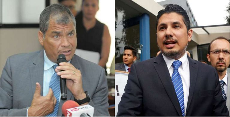 Correa fue llamado a finales de 2018 a juicio como presunto autor intelectual del delito de plagio.