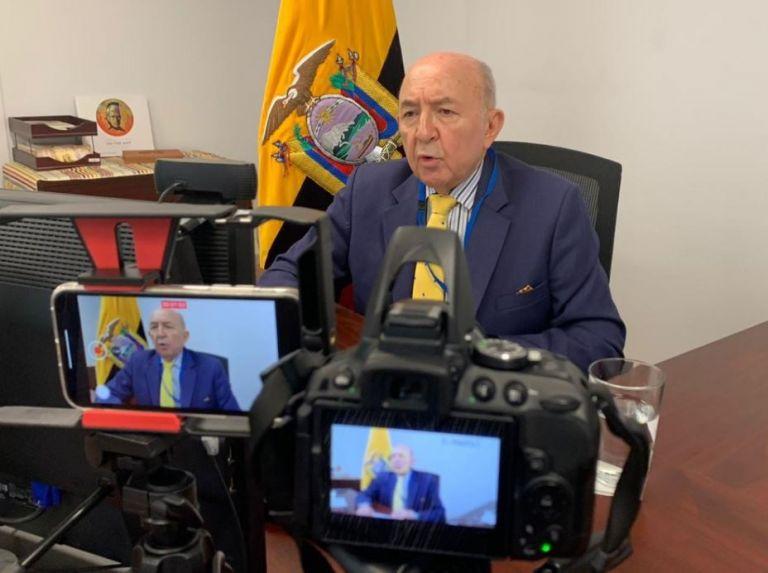 Gallegos se venía desempeñando desde octubre de 2018 como representación permanente de Ecuador ante la Organización de Naciones Unidas.