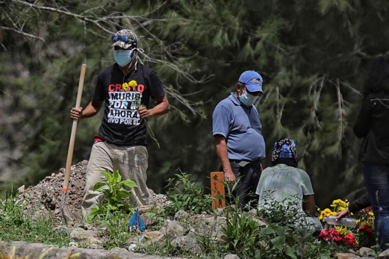 Santa Cruz es la región más colapsada de Bolivia, con 756 fallecidos y 26.671 positivos confirmados. Foto: EFE
