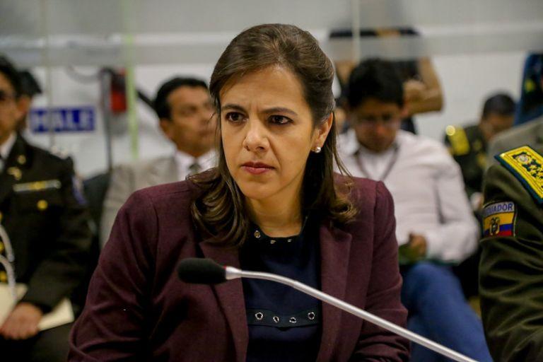 """En el audio, en 11 ocasiones mencionan """"María Paula"""", nombre de la ministra de Gobierno."""