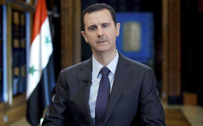 Al Asad juró el cargo el 17 de julio de 2000 con tan solo 34 años. Foto: EFE.
