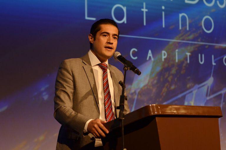 """""""Es un gran paso en la negociación de la deuda de Ecuador"""", celebró el ministro de Economía y Finanzas, Richard Martínez."""
